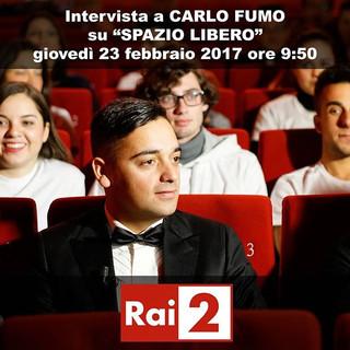 Carlo Fumo su RAI 2