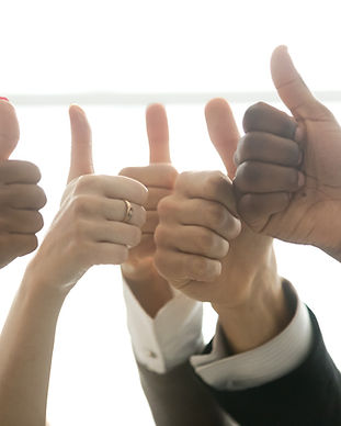 Hands of diverse business team people sh