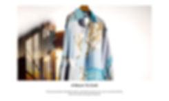 Menswear conscious homepage