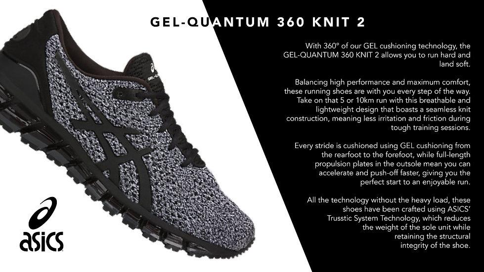 ASICS Mens GEL QUANTUM 360 trainers