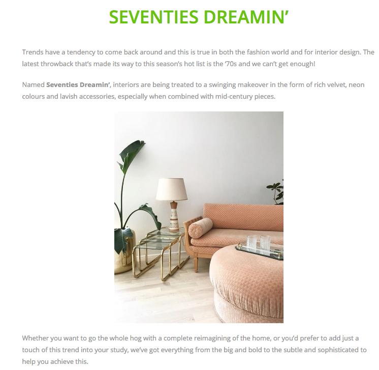 Cult Furniture blog post