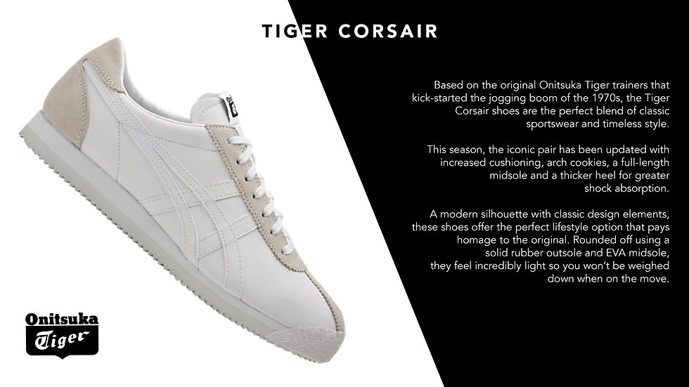 Onitsuka Tiger Unisex Tiger Corsair trainers