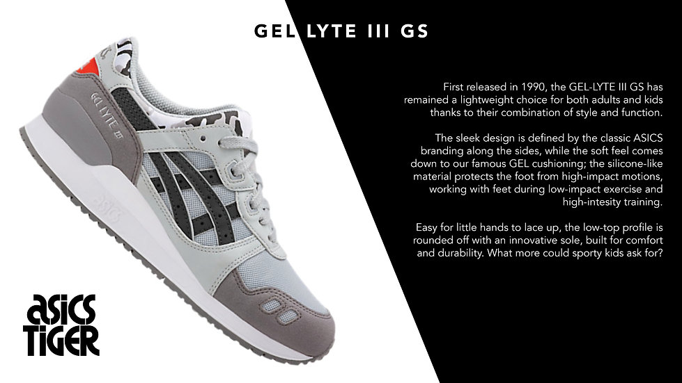 ASICS Tiger kids' GEL LYTE III GS trainers