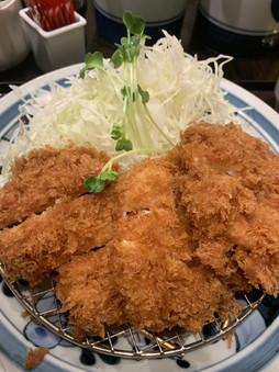 Chicken tonkatsu