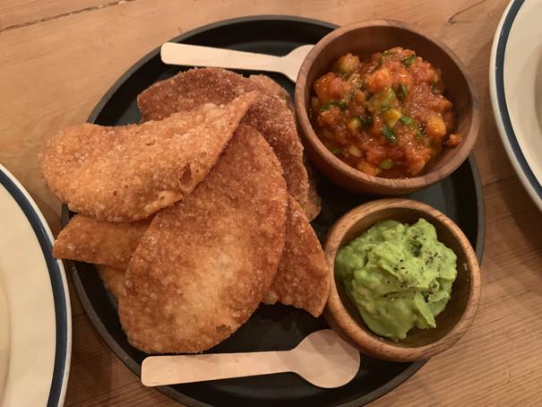 Gochujang tuna & nacho