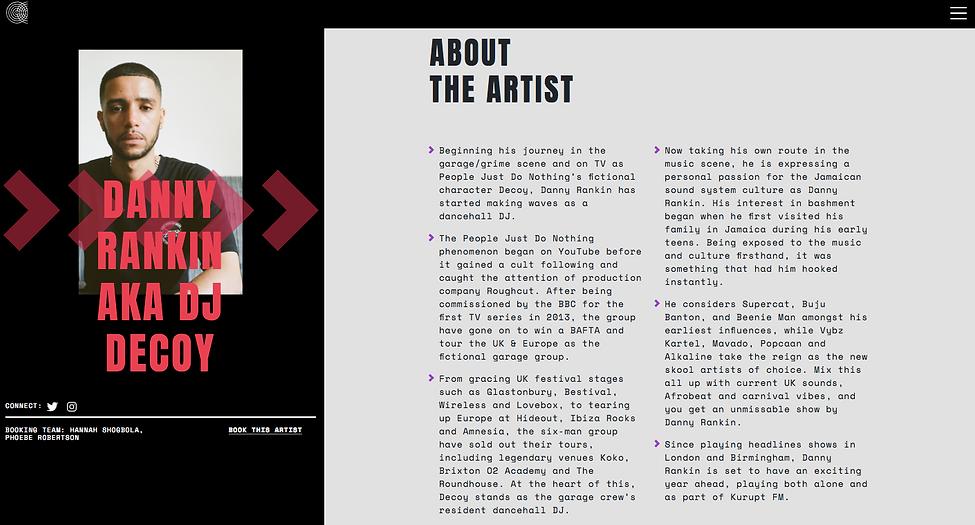 Freelance copywriter bio copy