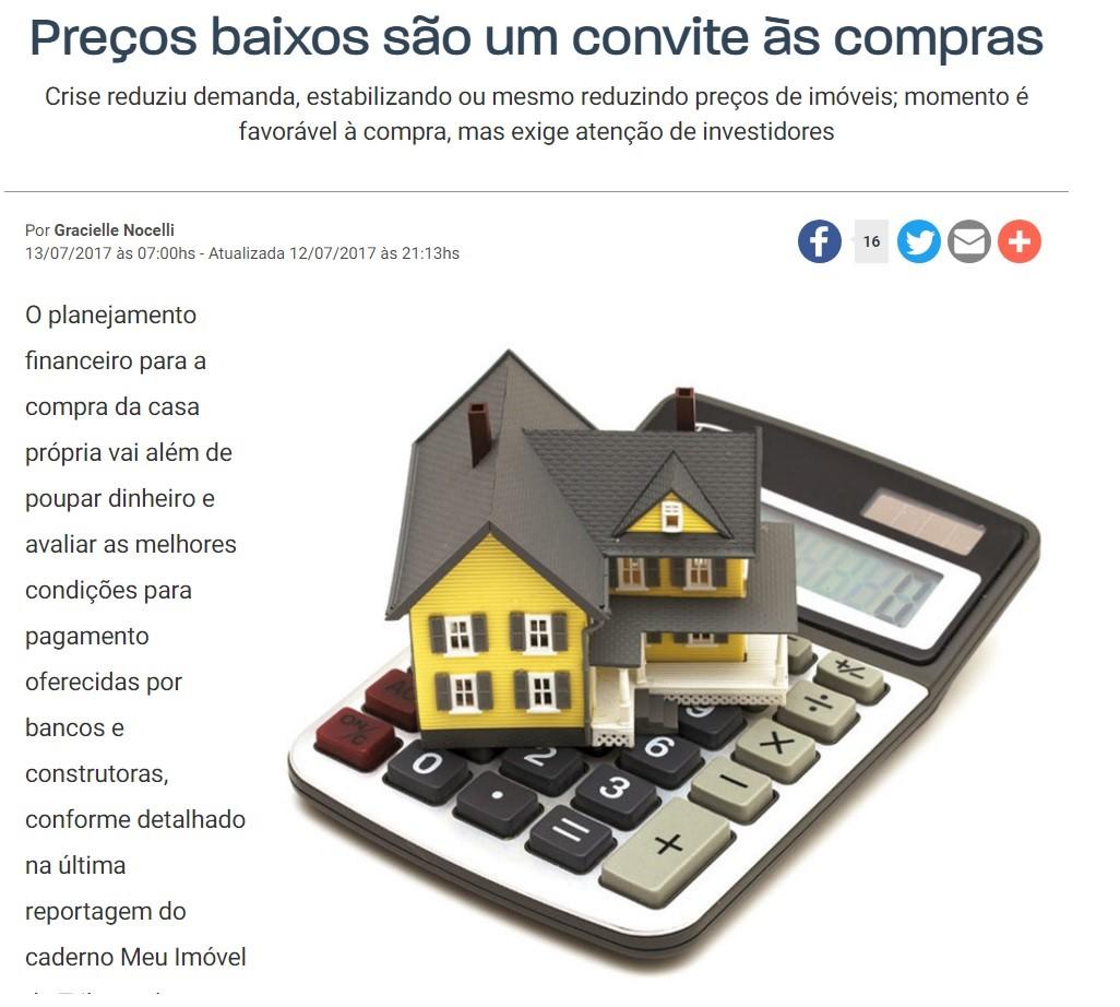 Aquecimento do setor imobiliário