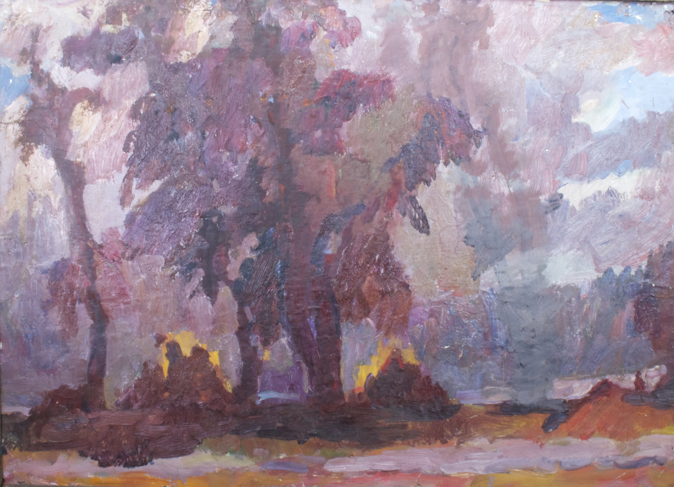 Багряные деревья