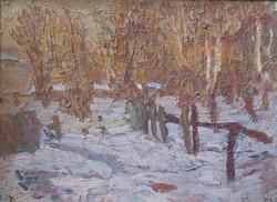Сиреневый снег