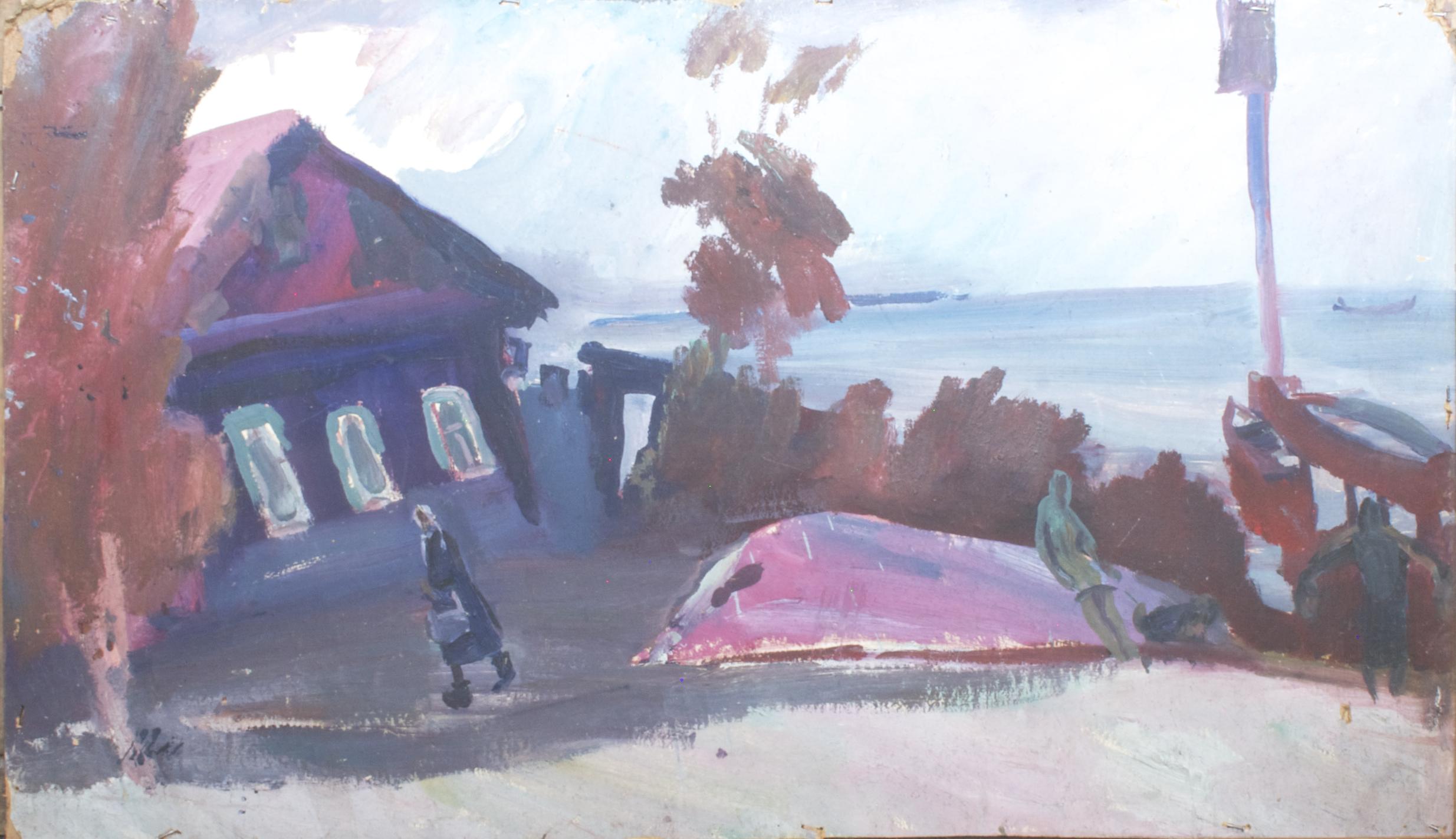Дом у моря, Калиновка