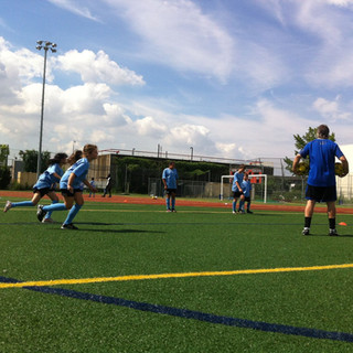 Soccer development.  The race is on.
