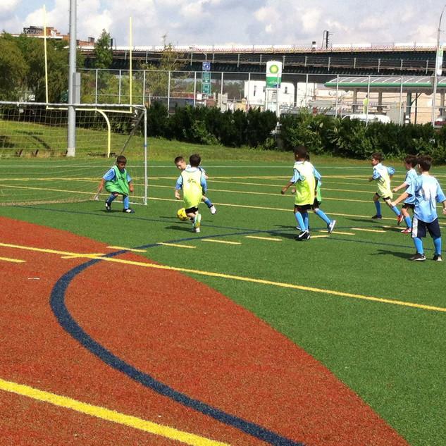 Soccer development. Scrimmage.  Alba FC