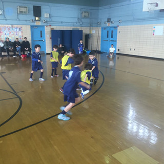 Youth soccer program at MS 101
