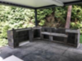 aos outdoor kitchen blockwork