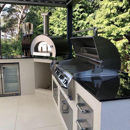 aos outdoor kitchens firemagic, alfa, beefeater