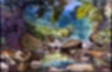 F ELLO Landscape oil on canvas 34 54 198