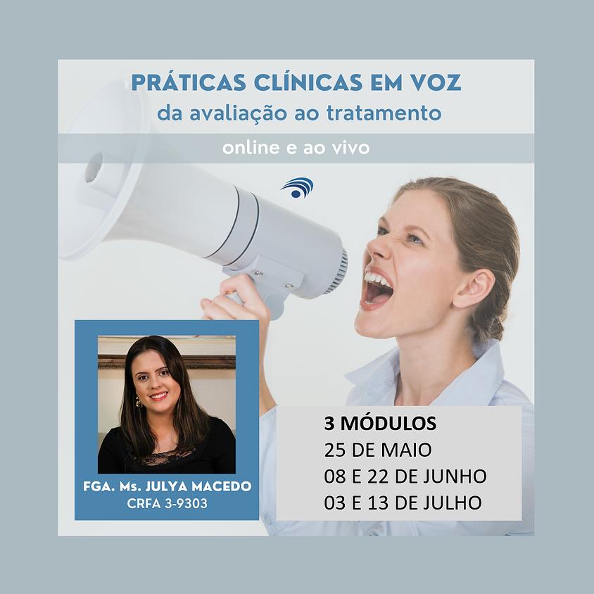 Práticas Clínicas em Voz: da Avaliação ao Tratamento