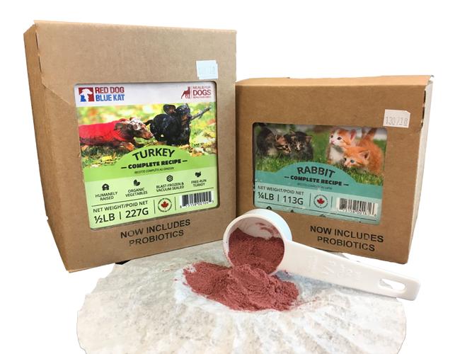 Probiotics in Red Dog Blue Kat Raw Meals