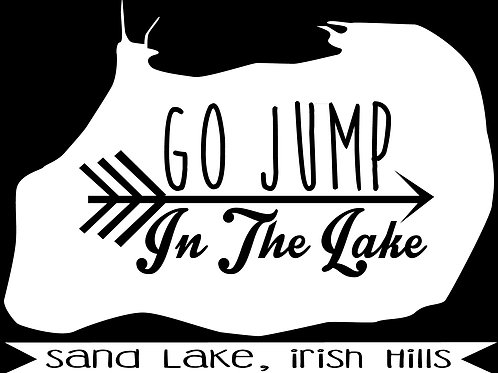 Go Jump in Sand Lake
