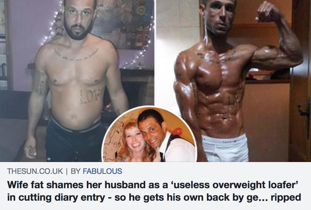 earl stewart weight loss the sun