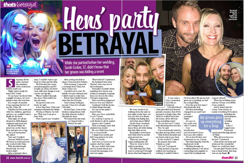 That's Life: Hens' party BETRAYAL