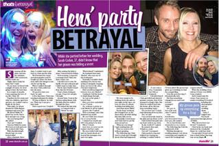Hens' party BETRAYAL