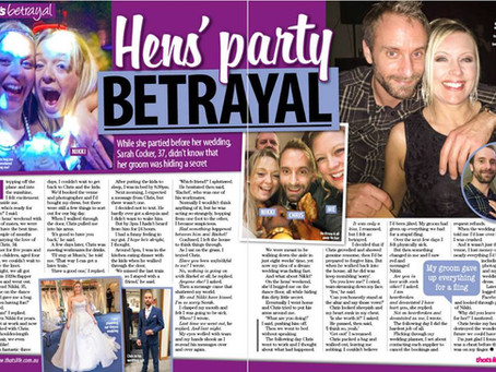 Hen's party BETRAYAL