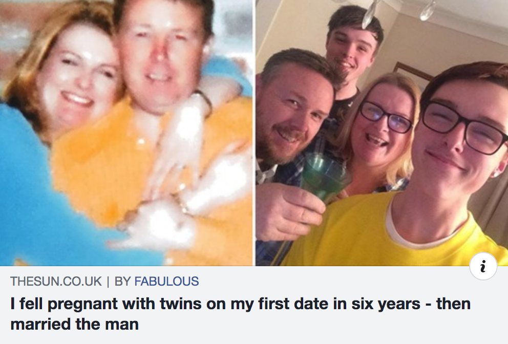 Rebecca Evans Twins After First Date