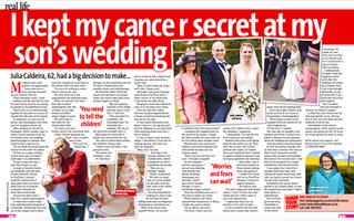 I kept my cancer a SECRET