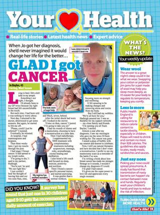 GLAD I got cancer