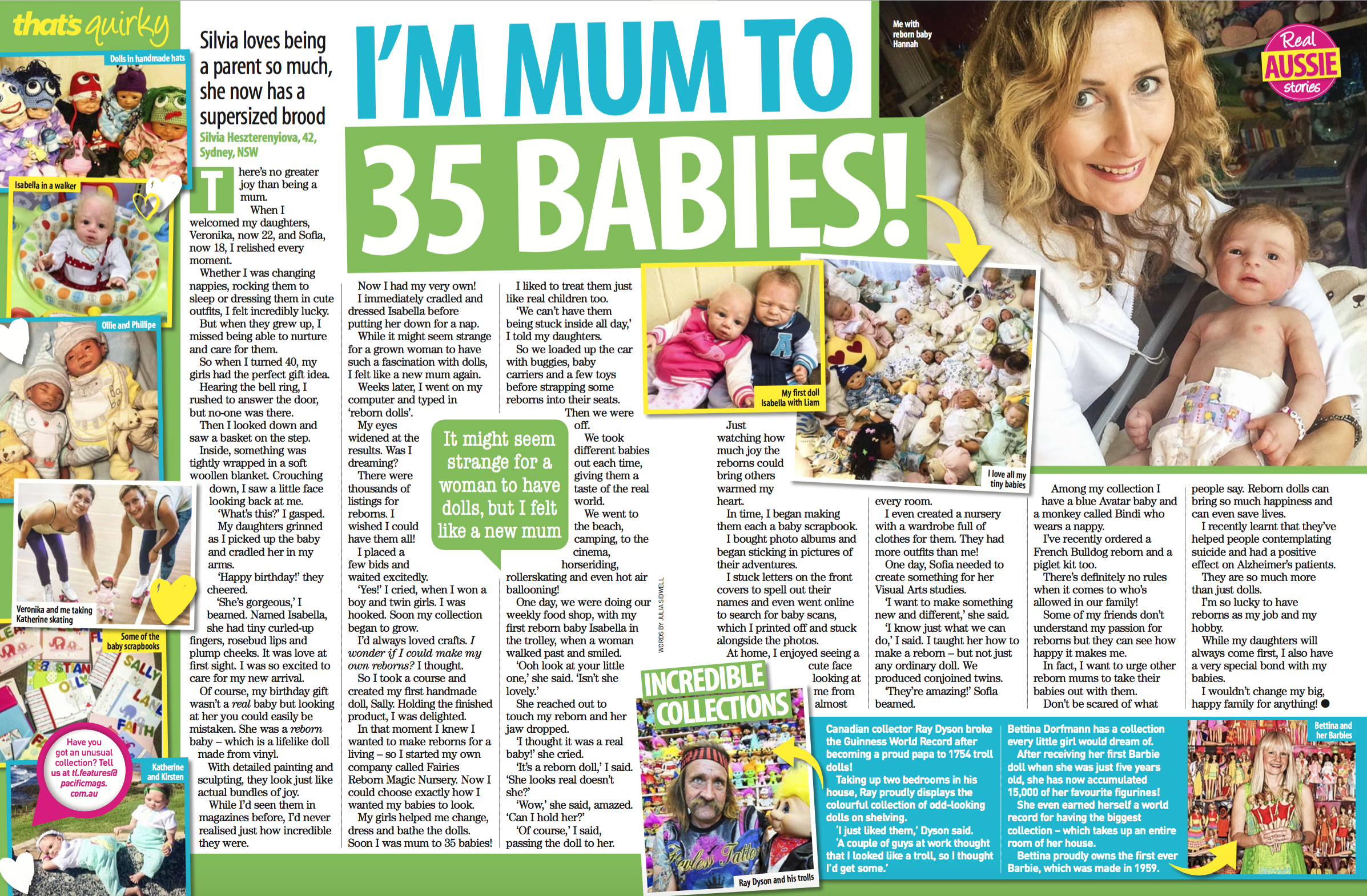 That's Life: Mum to 35 BABIES!