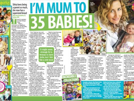 I'm mum to 35 BABIES!