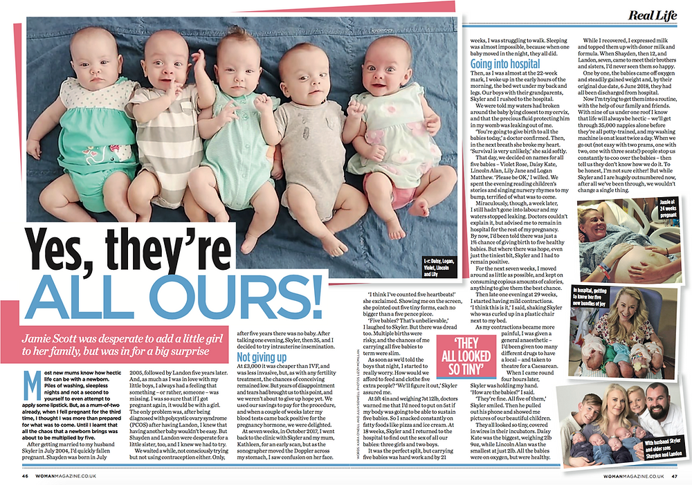 quintuplets story