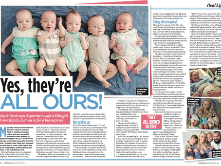 Not one, not two, but FIVE babies!