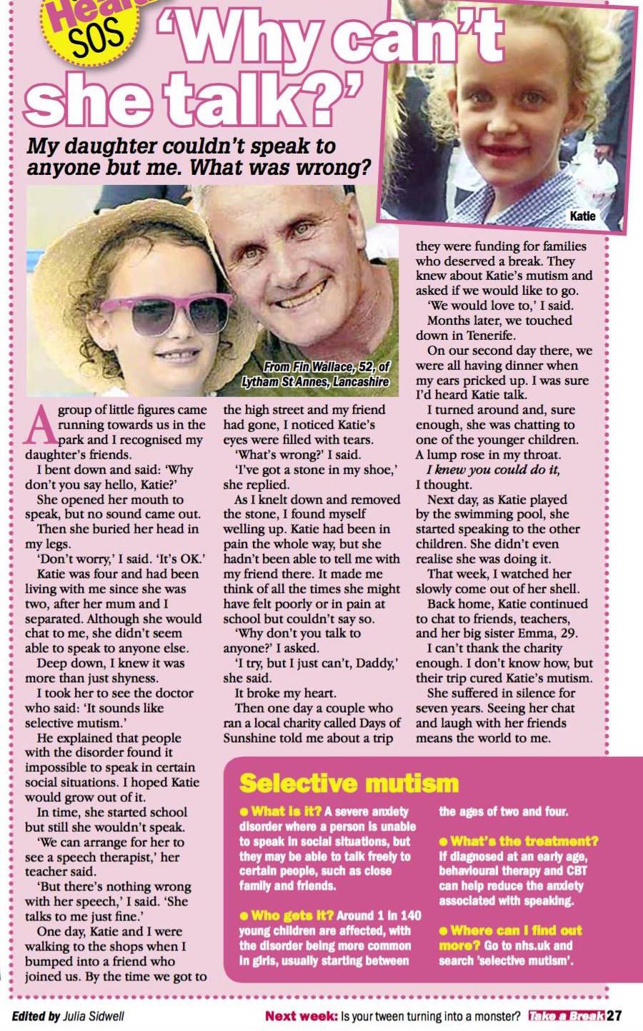 Mutism Story