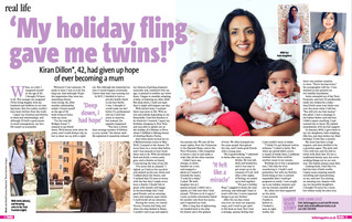 I made two wishes for a baby… and got TWINS!
