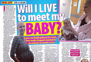 Will I live to meet my baby?