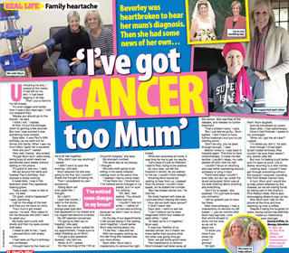 I'VE GOT CANCER TOO MUM