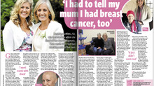 'I had to tell my mum I had breast cancer too'