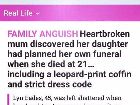 I always knew I'd bury my daughter...