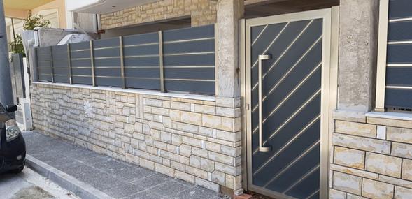 Φράχτης Αλουμινίου & Πόρτα