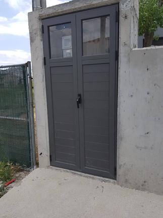 Aluminum Door with Glass