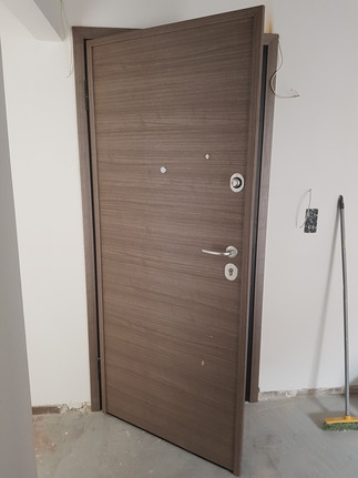 Safety Door with Laminate