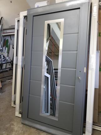 Θωρακισμένη Πόρτα Αλουμινίου