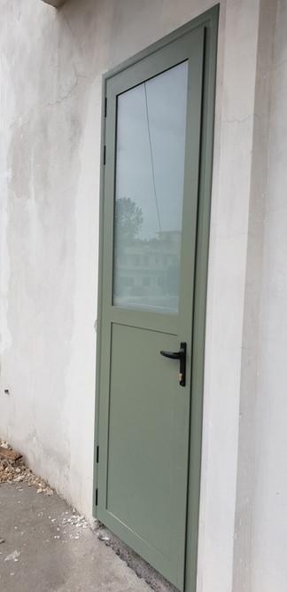 Aluminium Door with Glass