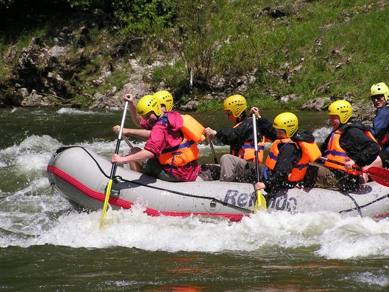רפטינג בנהר דונייץ