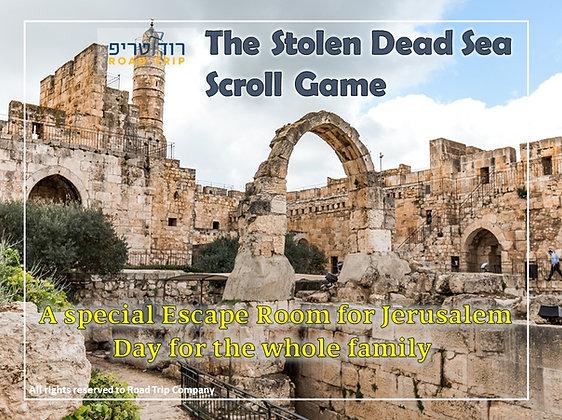 The Stolen Dead Sea Scroll Game
