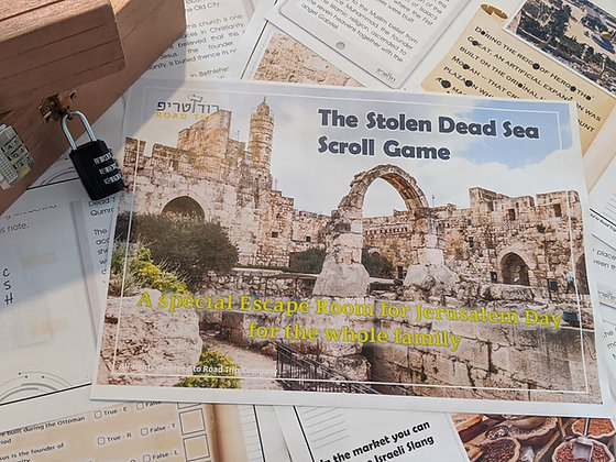 The Stolen Dead Sea Scroll Game - The Full Kit