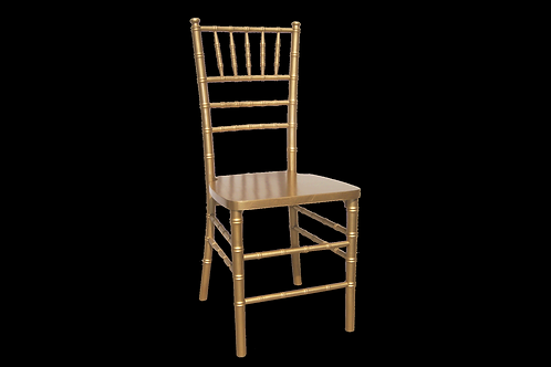 Gold Tone Chiavari Banquet Chair
