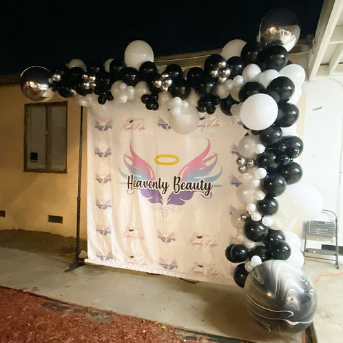 14 feet Shiny Balloon Garland